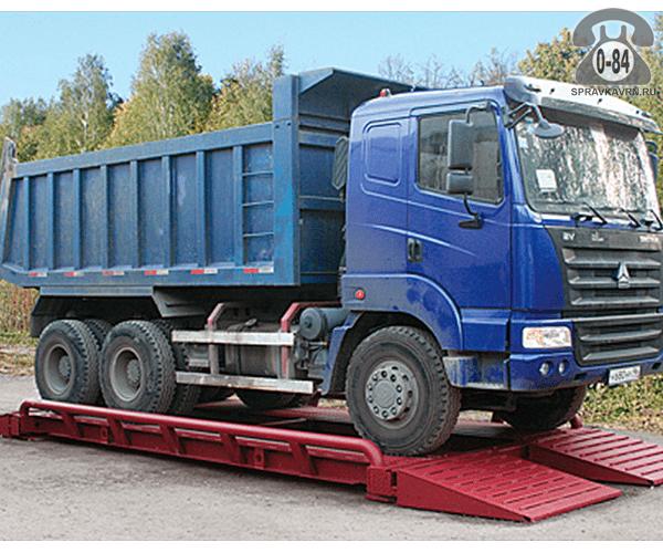 Весы автомобильные ВА-ПО-30т-6 Эльф + 5900*3100 мм 30 т