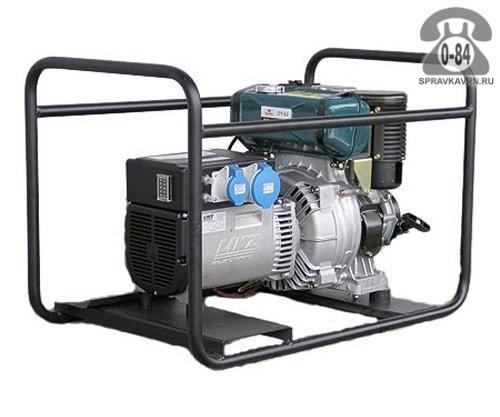 Электростанция Энерго ED 6.0/230-SL двигатель Robin Subaru