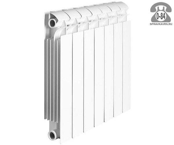 Радиатор отопления чугунный Коннер (Konner) Модерн 500 232x600 мм