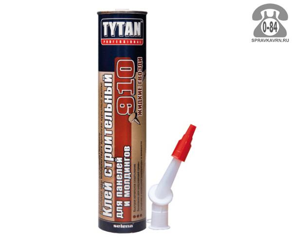 Клей готовый к применению Титан (Tytan) 910 для панелей и молдингов