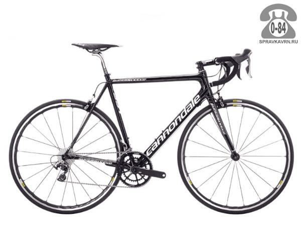 "Велосипед Канондейл (Cannondale) SuperSix EVO Hi-MOD Team (2016) размер рамы 22.5"" серый"