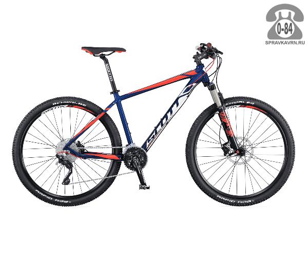 "Велосипед Скотт (Scott) Aspect 700 (2016), рама 22.5"" размер рамы 22.5"" синий"