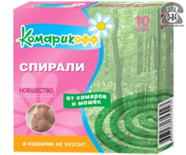 Комарикофф Для детей спираль
