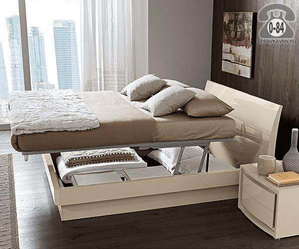 Кровать Vela 2-спальная 2100х1840 мм