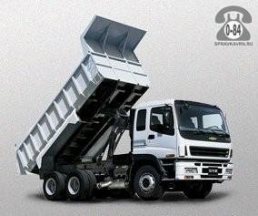 Грузоперевозка. Автомобиль грузовой с водителем - предоставление для перевозки грузов самосвал 12 т