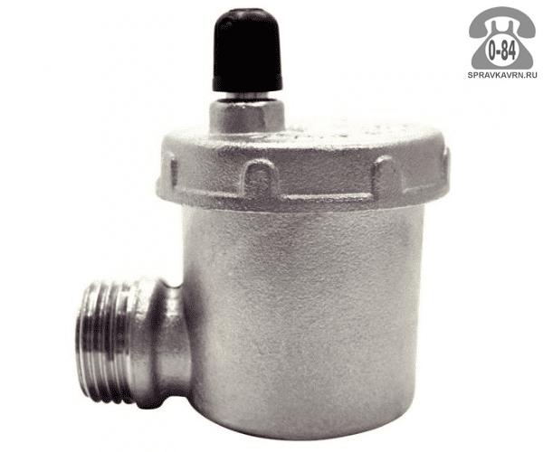 """Воздухоотводчик автоматический для радиатора отопления Итап (Itap) 1/2"""" боковое подключение"""