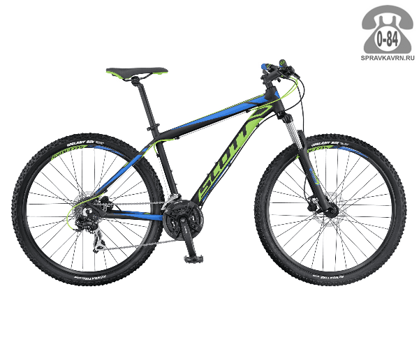 "Велосипед Скотт (Scott) Aspect 760 (2016), рама 20.5"" размер рамы 20.5"" черный"
