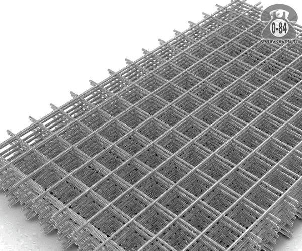 Сетка строительная сварная сталь нержавеющая 2.6 мм 55 мм 55 мм