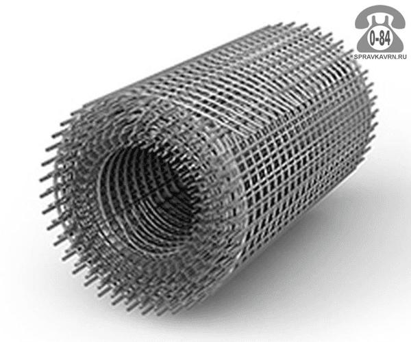 Строительная сетка диаметр 1.6мм  ячейка 25x25мм ширина 1м