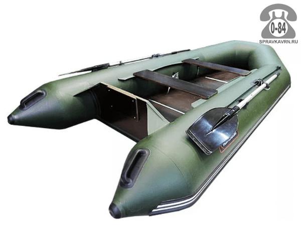 Лодка надувная Hunterboat Хантер 320 Л, зеленый 320032