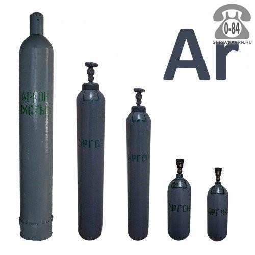 Баллон для газа аргон 40 л металл