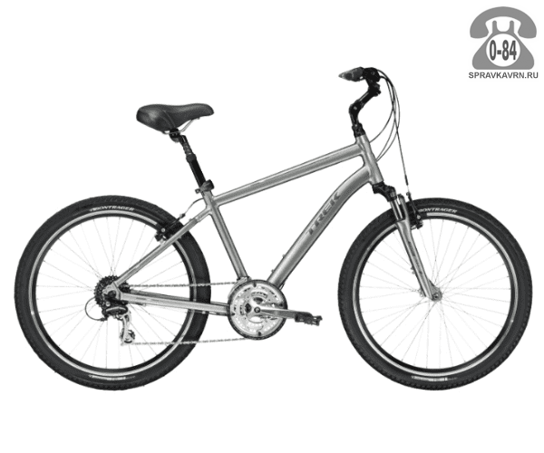 """Велосипед Трек (Trek) Shift 3 (2016), рама 17"""", серый размер рамы 17"""" серый"""