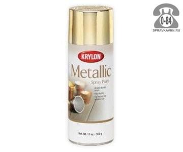 Краска декоративная Крилон (Krylon) Металлик 0.34л