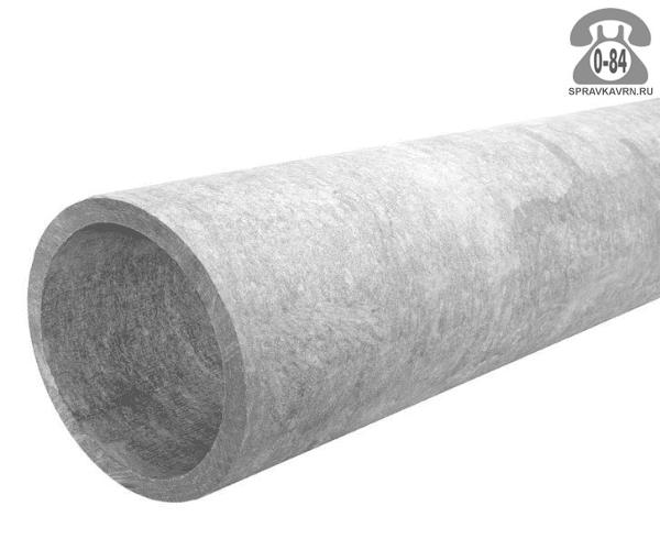 Асбоцементная труба БНТ 400ммx5м, толщина стенки 17мм