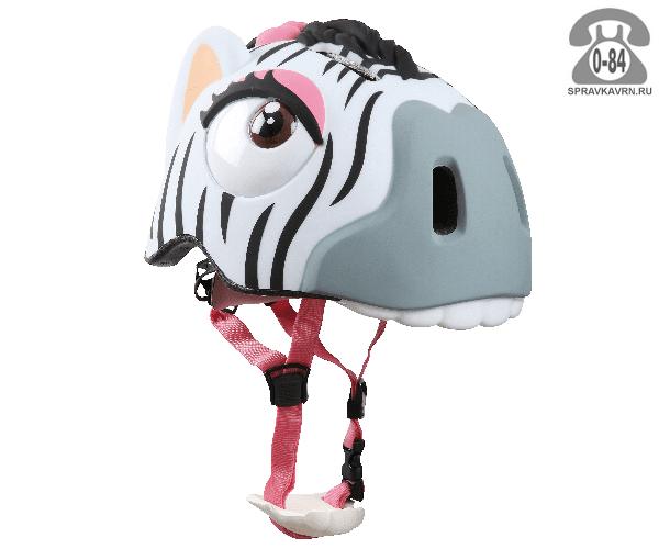 Велошлем Крейзи Сафети (Crazy Safety) Zebra детский
