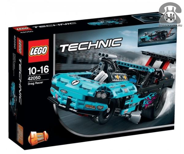 Конструктор Лего (Lego) Technic 42050 Гоночный драгстер, количество элементов: 647