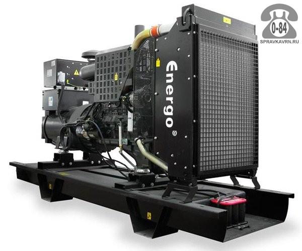 Электростанция Энерго ED 250/400 IV двигатель Iveco C 87TE1D