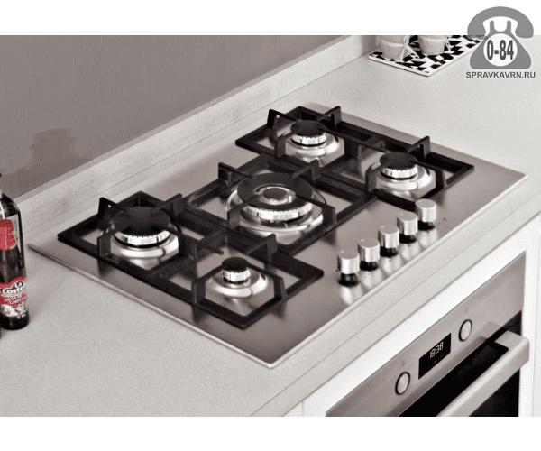 Варочная панель Тека (Teka) EFX 70 5G AI AL DR CI нержавеющая сталь автоматический электроподжиг