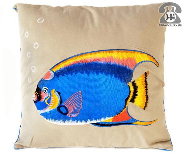 Подушка декоративная Белль Хоум коллекшен (Belle Home collection) Рыба попугай