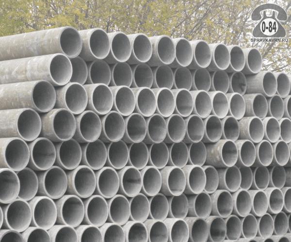 Асбоцементная труба ВТ6 400ммx5м, толщина стенки 21мм