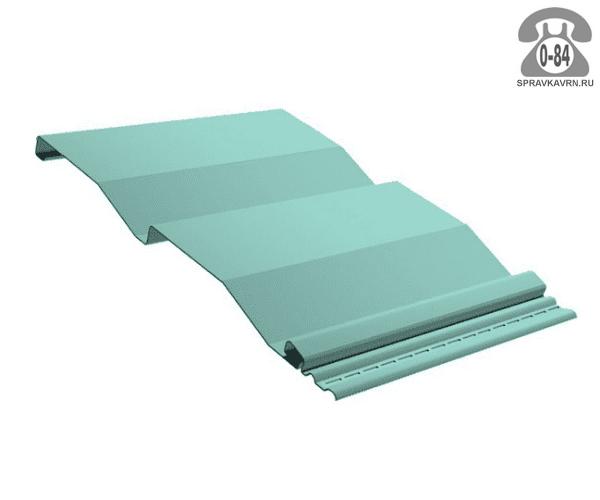 Сайдинг Профиль Плюс корабельная доска металлический (металлосайдинг) полимерное
