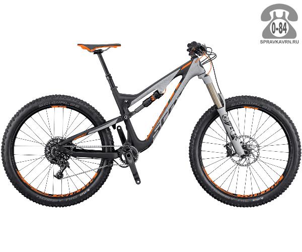 """Велосипед Скотт (Scott) Scale 710 Plus (2016), рама 20.5"""" размер рамы 20.5"""" серый"""