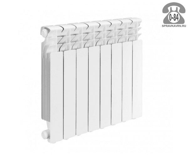 Радиатор отопления биметаллический Аквапром (Aquaprom) 500/80 640x560 мм