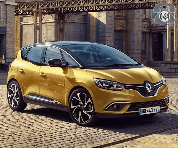 Автомобиль легковой Рено (Renault) Сценик (Scenic)