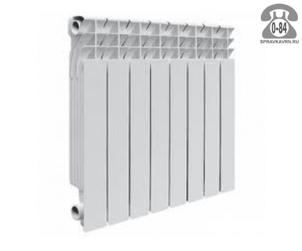 Радиатор отопления Роял Термо (Royal Thermo) Эволюшн (Evolution) EvA 500 8 секций