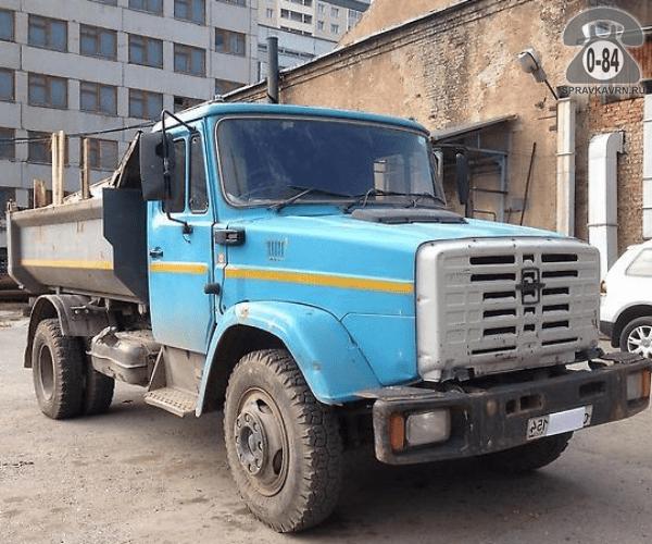 Грузоперевозка. Автомобиль грузовой с водителем ЗИЛ ЗИЛ-450850 самосвал 6 т 6.4 м 2.5 м 2.8 м аренда