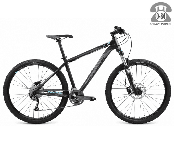 """Велосипед Формат (Format) 1214 27.5 (2017) размер рамы 17.5"""" черный"""