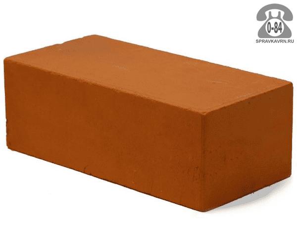 Кирпич рядовой керамический Россошанский кирпичный завод М150 полуторный (утолщённый) 1,4НФ 250 мм 120 мм 88 мм гладкая полнотелый красный F25-35 на поддонах г. Россошь