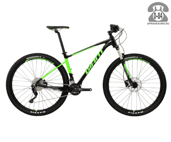 "Велосипед Джайнт (Giant) Fathom 29er 2 LTD (2017), рама 18.5"" размер рамы 18.5"" черный"