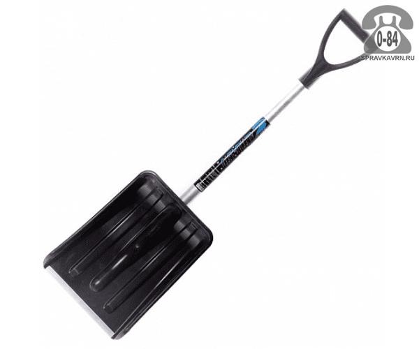 Лопата АктивАвто снеговая с черенком 365x290 мм