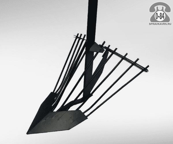 Картофелекопатель для мотоблока усиленный мотоблоки Нева 326 мм г. Липецк