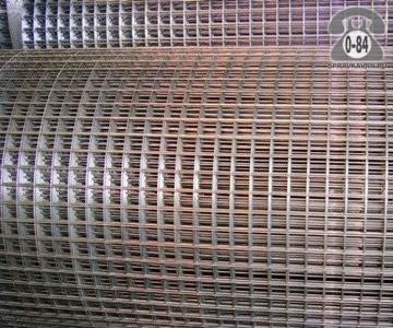 Сетка строительная штукатурная сталь неоцинкованная