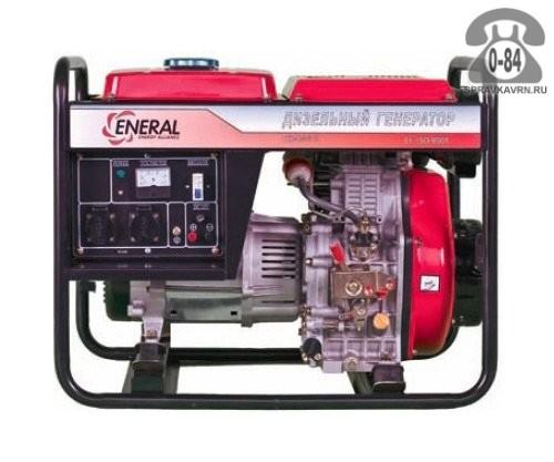 Электростанция Энерал (Eneral) ГД-4.5-1 двигатель LA186FA