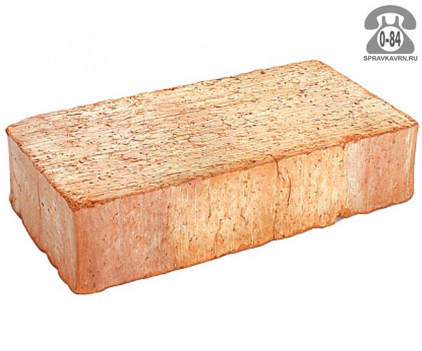 Кирпич рядовой керамический Энгельсский, красный, 1,0НФ, М150, поштучно
