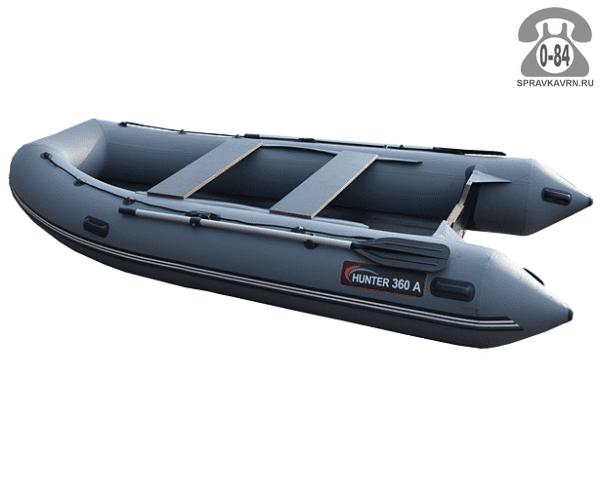 Лодка надувная Hunterboat Хантер 360 А, серый 360201