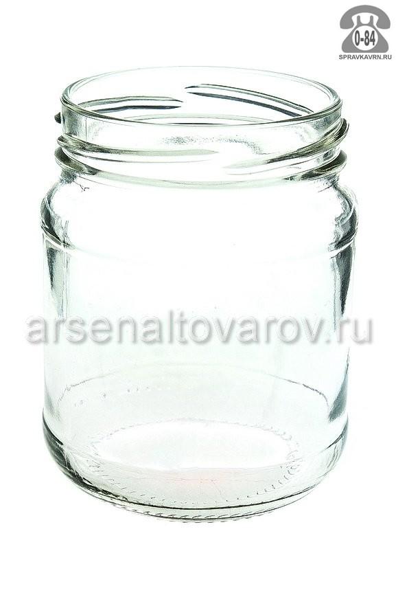 Банка стеклянная Твист-66 0.25 л