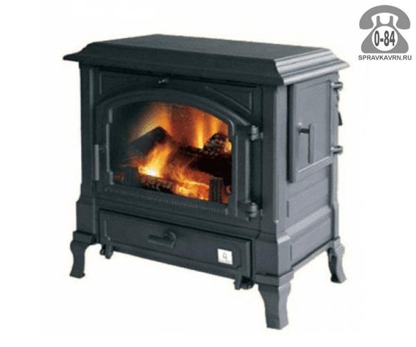 Отопительная печь Эфел (Efel) Harmony I Boiler 250м3 11кВт, 735x745мм