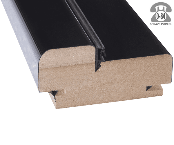 Дверная коробка Топ-Комплект Эко капучино кроскут 2150x85x40 мм