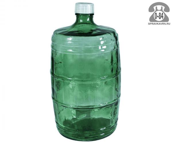 Бутыль стеклянная 6 л