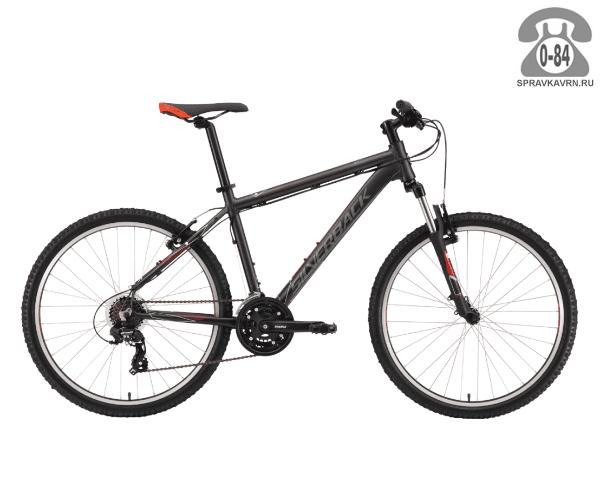 "Велосипед Сильвербэк (Silverback) STRIDE SPORT (2016), рама 18.5"" размер рамы 18.5"" черный"