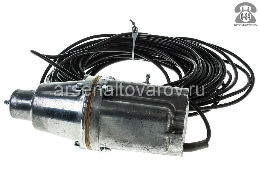 Насос водяной для скважины и колодца ЛИВГИДРОМАШ Малыш БВ-0.12-40-У5 25 м