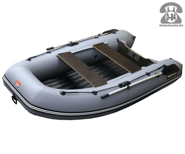 Лодка надувная Hunterboat Хантер 290 А, серый 290201