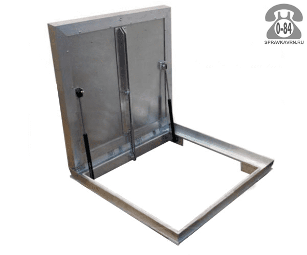 Люк ревизионный Колизей Лифт стандарт REVIZOR с амортизаторами напольный ну700700