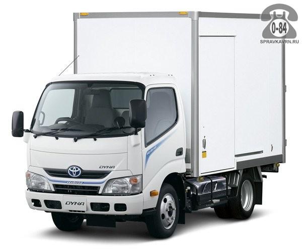 Грузоперевозка. Автомобиль грузовой с водителем Тойота (Toyota) Дюна (Dyna) аренда