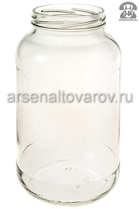 Банка стеклянная Твист-82 стандартная 1.5 л