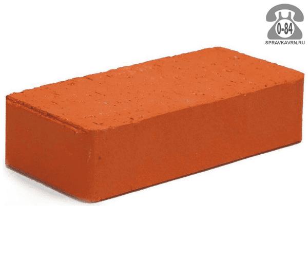 Кирпич рядовой керамический Энгельсский кирпичный завод М150 одинарный 1НФ 250 мм 120 мм 65 мм гладкая полнотелый красный F100 на поддонах г. Энгельс